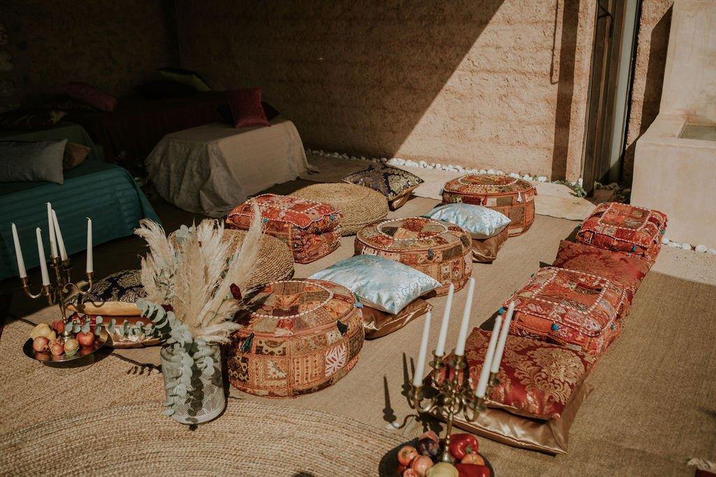 Ethnic ceremony arabic style